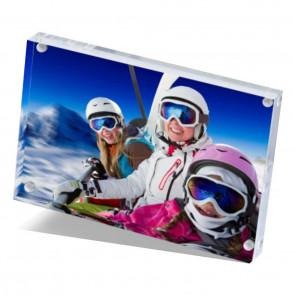 Foto op acrylblok 15 x 10 cm