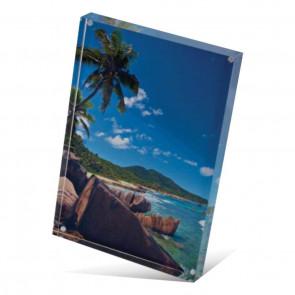 Foto op acrylblok 18,7 x 12,7 cm