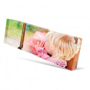 Foto op acrylblok 20 x 5 cm