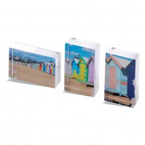 Foto op acrylblok 7 x 4,5 cm