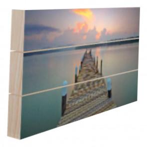 Foto op hout 30 x 30 cm