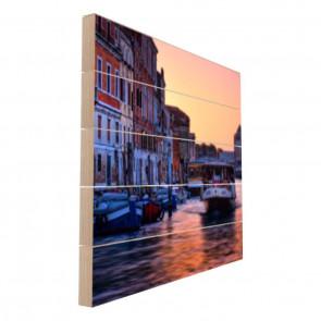 Foto op hout 50 x 50 cm